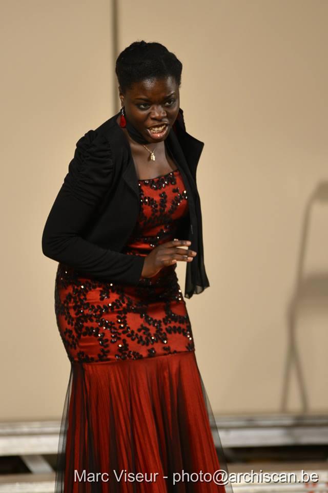 Raphaële Nsunda dans ses oeuvres