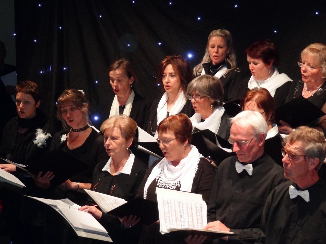 Le pupitre des soprani