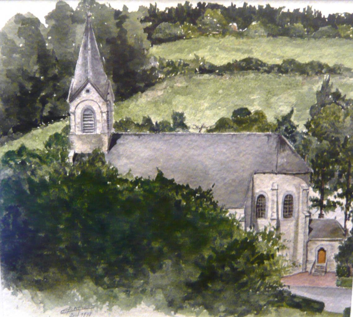 Ancienne église de Mont-Godinne